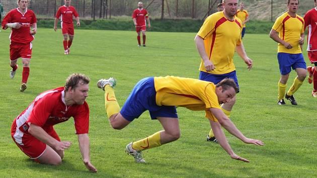 Bod získali doma fotbalisté Pohledu proti N. Rychnovu.