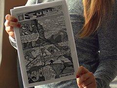 S nápadem vytvořit městský komiks přišla Lucie Chaloupková.