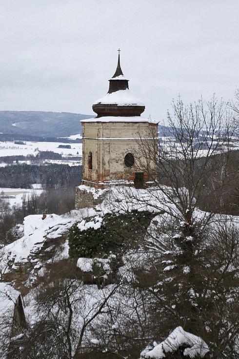Lipnice nad Sázavou a její okolí.