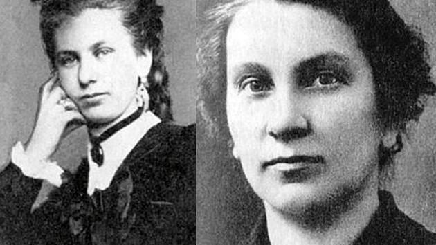 Vlasta Pittnerová (vlevo) byla už v mládí hodně kritická. Chtěla být především novinářkou, ale nakonec se stala autorkou červené knihovny. Vlasta Javořická se starala hlavně o domácnost a ještě stihla napsat 113 románů.
