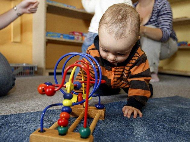 Němčinu nebo angličtinu se v brodském MaMMa centru učí děti od dvou, popřípadě čtyř let. Ilustrační foto