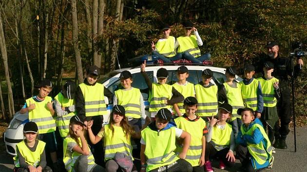 O kroužek pořádaný městskou policií v Havlíčkově Brodě je mezi dětmi obrovský zájem.