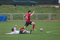 Fotbalisté Havlíčkova Brodu v posledním červnovém zápase prohráli ve Znojmě.