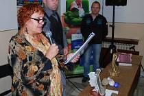 Vítězka u čtenářů Olga Fikrlová.
