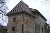 Kostel sv. Kateřiny prochází náročnou obnovou.