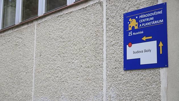 Přírodovědné centrum na ZŠ Nuselská v Havlíčkově Brodě.
