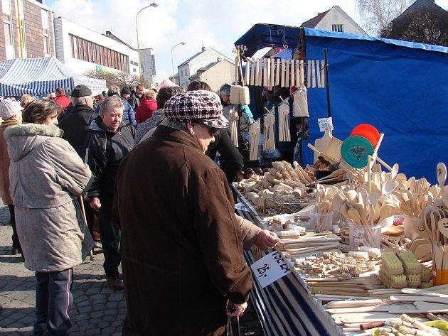 Tradiční Josefské trhy ve Světlé.
