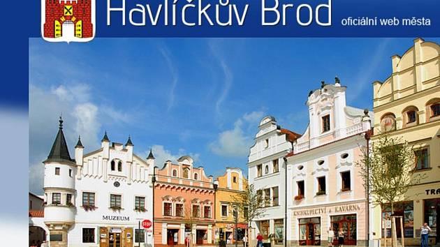 Webové stránky města Havlíčkův Brod.