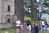 Kostel sv. Markéty v Loukově.