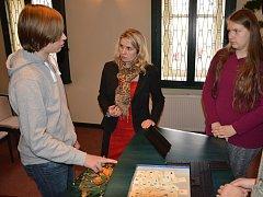 Členka Rady Kraje Vysočina Jana Fialová navštívila v pondělí Světlou nad Sázavou.