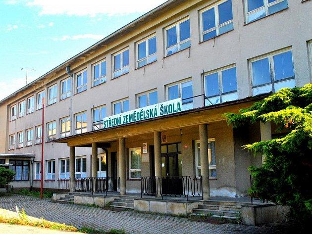 Objekt Střední zěmědělské školy v Havlíčkově Brodu.
