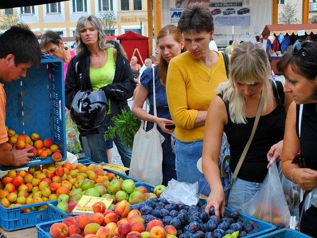 Farmářské trhy opět zavítaly do Havlíčkova Brodu.