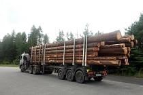 Policisté o víkendu na silnicích Vysočiny kontrolovali také řidiče kamionů.