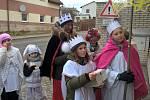 První lednovou sobotu ulicemi města Přibyslav prošel tříkrálový průvod.