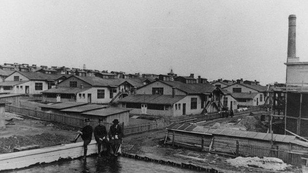 Brodská baráková kolonie.