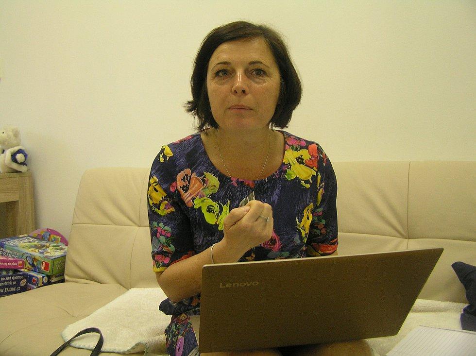 Daria Čapková ředitelka Informačního a poradenského centra Vysočina Havlíčkův Brod.