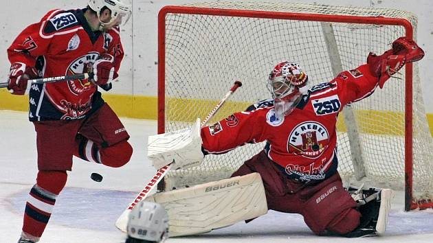 Hokejisté Havlíčkova Brodu odjedou ve středu do Jihlavy na derby utkání jako nejlepší tým soutěže.
