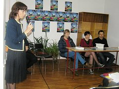 Markéta Hejkalová (vlevo) pozvala do Brodu opět řadu známých kulturních osobností.