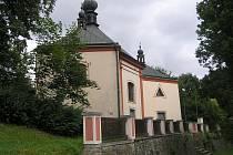 Kostel Nejsvětější Trojice si žádá opravy interiéru.