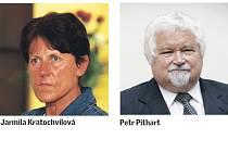Na vyznamenání jsou navrženi také Jarmila Kratochvílová a Petr Pithart.