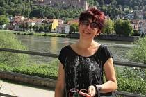 Lenka Havlíková v Heidelbergu.