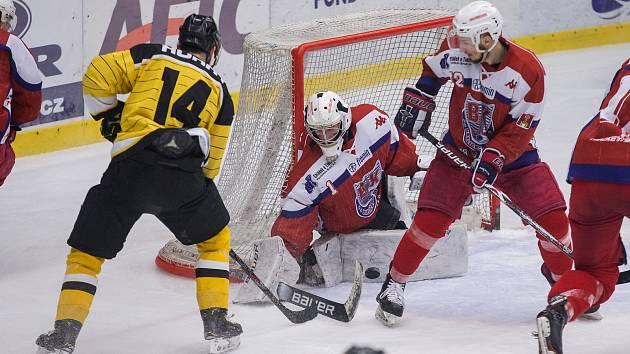 Třetí finálové utkání II. ligy mezi  BK Havlíčkův Brod a HC Moravské Budějovice 2005.