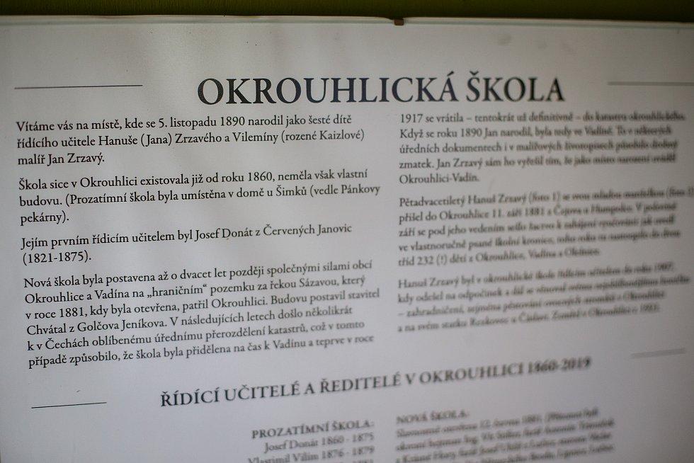 Jaroslav Šoupal, předseda spolku Za záchranu rodného domu Jana Zrzavého v Okrouhlici.