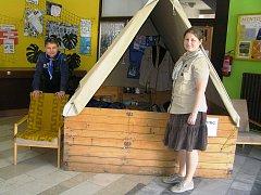 Benefiční akci pořádalo skautské středisko Bobříci.