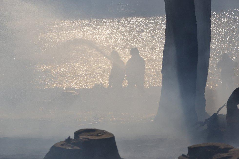 V pondělí na Vysočině hořel les i u Kněžic.