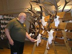Myslivci z okresu se v Brodě chlubí svými trofejemi.