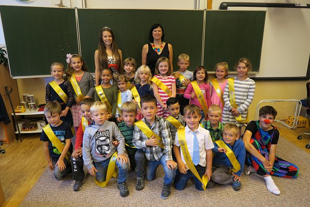 Na fotografii jsou žáci ZŠ Štáflova Havlíčkův Brod, třída 1.Apaní učitelky Michaely Arbelovské.
