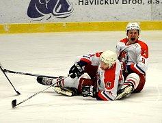 Rezerva Havlíčkova Brodu drží v semifinále krok se silnou Chrudimí. Stav série je nerozhodný.