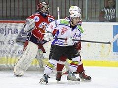 Síly došly brodským juniorům v krajském derby s Třebíči. Ve třetí třetině inkasovali tři branky a celkově prohráli 4:1.
