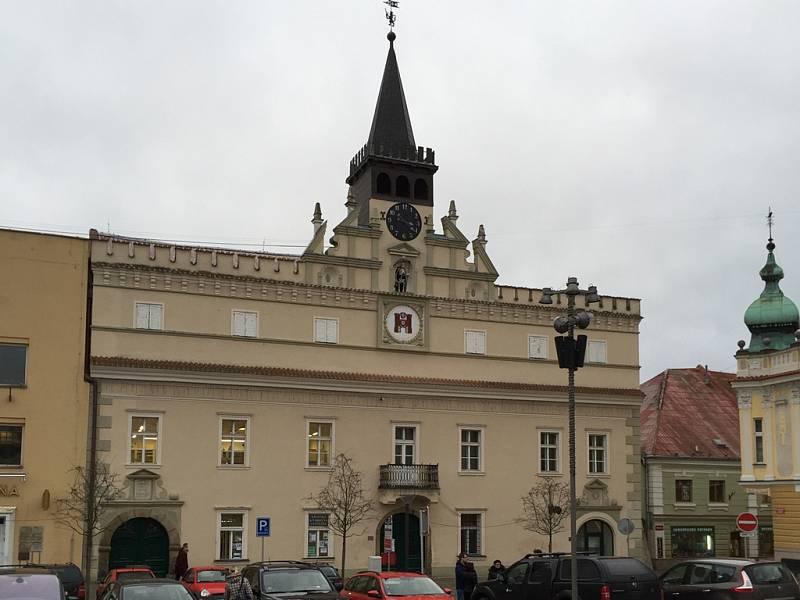Historická Stará radnice patří k nejstarším památkám Havlíčkova Brodu.