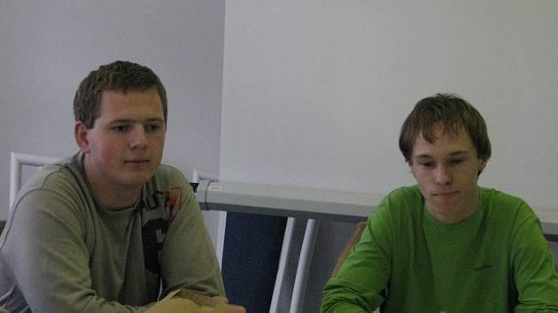 Studenti ze Slovenska napjatě očekávali, co všechno na pobytu v Čechách zažijí.