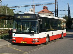 Autobus havlíčkobrodské MHD. Ilustrační foto: