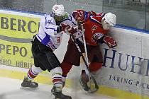 Devět branek ve dvou zápasech v domácím prostředí nastříleli starší dorostenci HC Rebel.