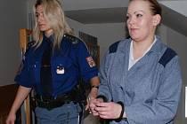 Iveta Puldová si od havlíčkobrodského okresního soudu odnesla dalších osmnáct měsíců za zdmi věznice.