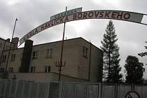 Areál bývalých kasáren v Havlíčkově Brodě.