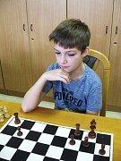 Tomáš Němec byl jedním z nejmladších účastníků havlíčkobrodského šachového turnaje.