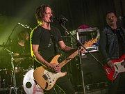 Koncert kapely Chinaski, která v rámci svého turné zavítala do Chotěboře.