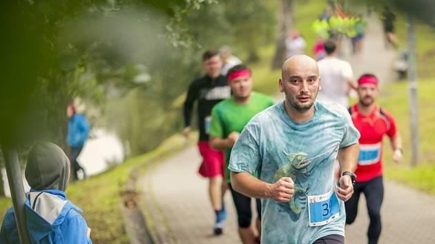 Zaběhat si do Havlíčkova Brodu přijely nebo přišly necelé dvě stovky závodníků.