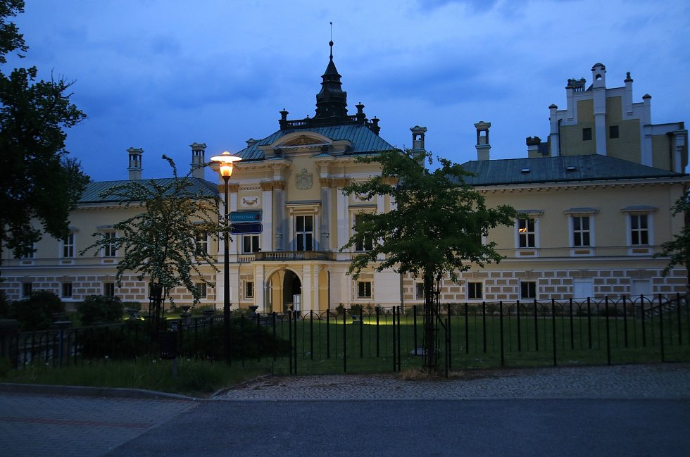 Zámek Světlá nad Sázavou.