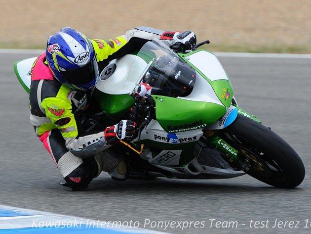 Nová sezóna. Ta začala pro brodského jezdce Michala Práška ve španělském Jerezu, kde zkoušel nový motocykl.