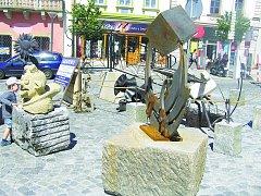 V neobyčejnou výstavní síň se změnilo náměstí v Havlíčkově Brodě.