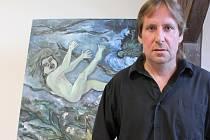 Jiří Čermák vystavuje v Chotěboři.