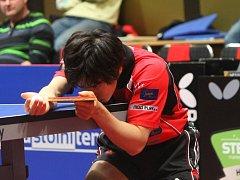 Čtyři body uhrála proti Havířovu a Ostravě brodská posila Masataka Morizono (na snímku) a všechny bez ztráty setu.