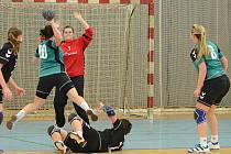 Drama připravily divákům brodské házenkářky v sobotním duelu proti Plzni. Nakonec vyhrály o tři branky.