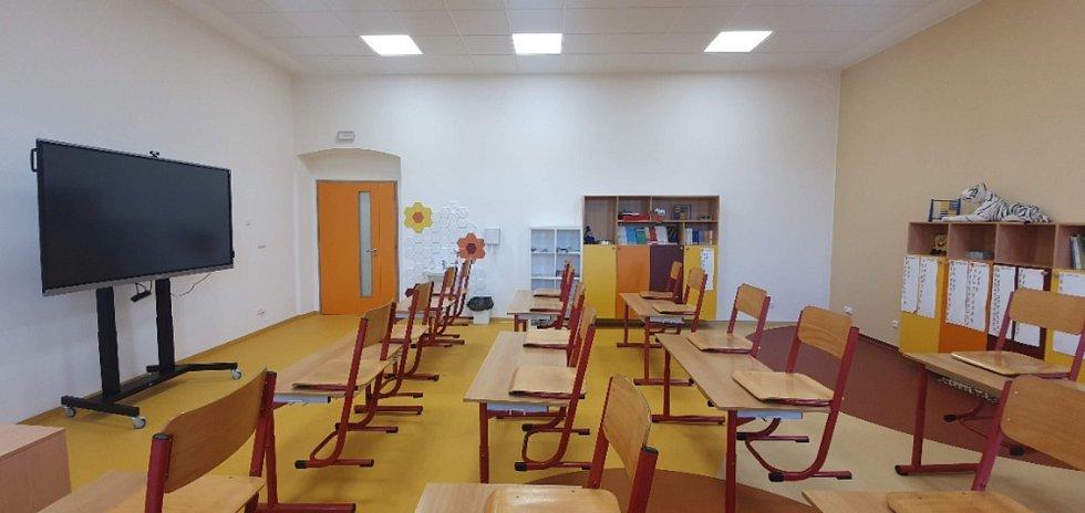 Nová základní škola Dolní Město.