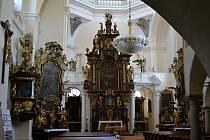 V havlíčkobrodském děkanském kostele Nanebevzetí Panny Marie zahraje v neděli na varhany Ludmila Bouchnerová.